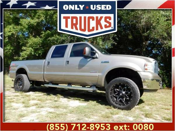 2006 *Ford F350* *F-350*F 350* Lariat Super Duty SRW (8cyl, 6.0L,...