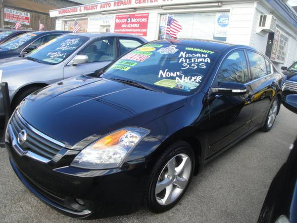 2007 NISSAN ALTIMA 3.5-SE 1 OWNER-PERFECT CARFAX-NONE NICER!