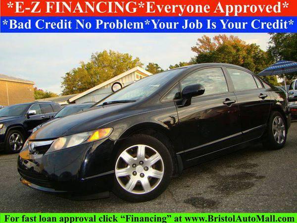 2008 *Honda* *Civic* LX 4dr Sedan 5A - 🚗 EZ FINANCING!