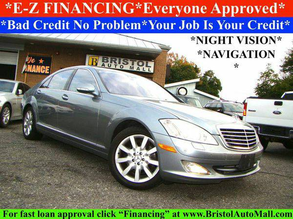 2007 *Mercedes-Benz* *S-Class* S550 4dr Sedan - 🚗 EZ FINANCING