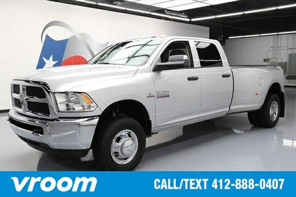 2016 RAM 3500 Tradesman 4dr Crew Cab DRW 4WD Truck 7 DAY RETURN / 3000