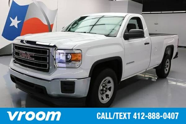 2015 GMC Sierra 1500 2dr Regular Cab Truck 7 DAY RETURN / 3000 CARS IN