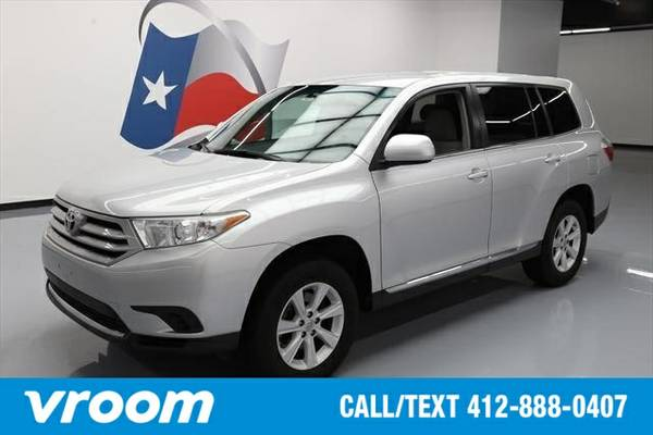 2013 Toyota Highlander 7 DAY RETURN / 3000 CARS IN STOCK