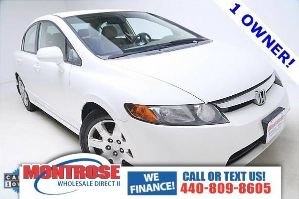 2006 Honda Civic LX Sedan Civic Honda