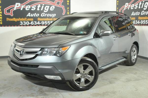 2008 Acura MDX-AWD, Navigation, Rear Seat Entertainment! Free Warranty