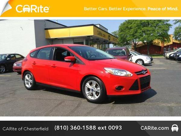 2014 *Ford Focus* 5dr HB SE (Race Red)