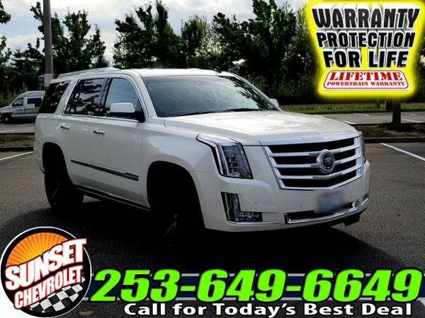 2015 *Cadillac Escalade* Premium 4WD SUV 4x4 SUV