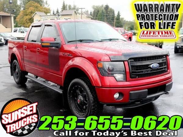 2013 *Ford F150* FX4 4x4 Truck