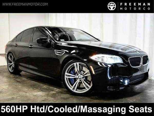 2013 *BMW* *M5* *560 HP Htd/Cooled Seats Blind Spot Assist Exec Pkg*...