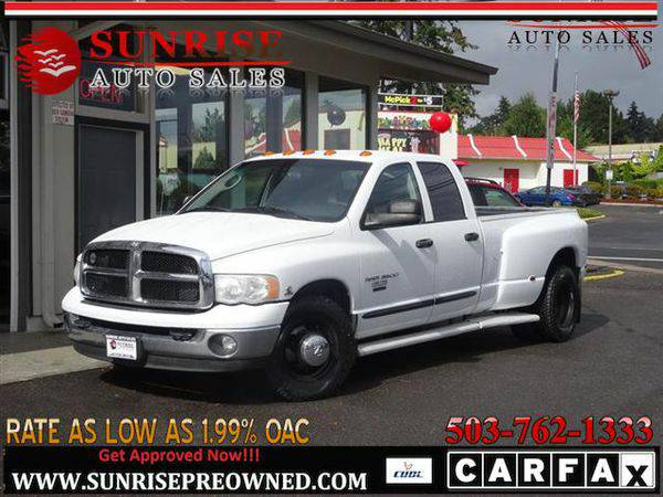 2005 *Dodge* *Ram* *3500* Laramie 4dr Quad Cab, DIESEL, 5.9 I6, GREAT