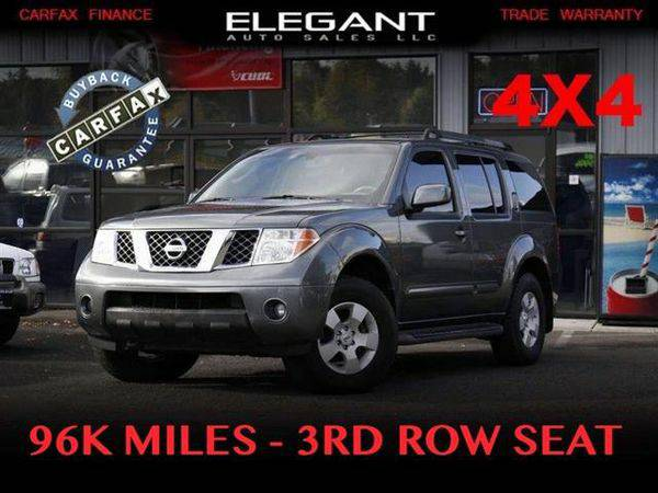 2006 *Nissan* *Pathfinder* S 96K MILES 4X4 3RD ROW SEAT