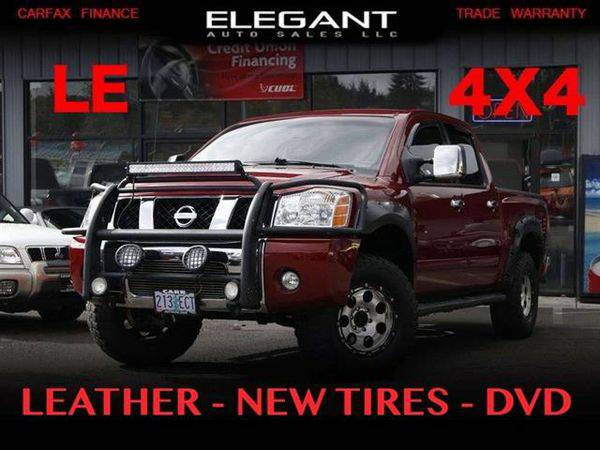 2004 *Nissan* *Titan* LE 4X4 LEATHER LOADED NEW TIRES