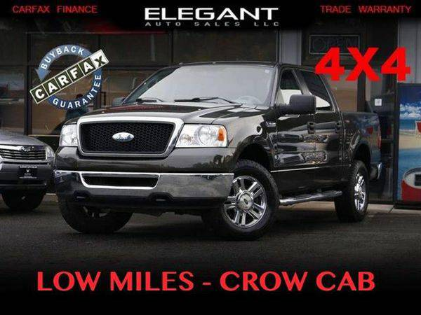 2006 *Ford* *F-150* *F 150* *F150* XLT SuperCrew 4X4 96K MILES SUPER C