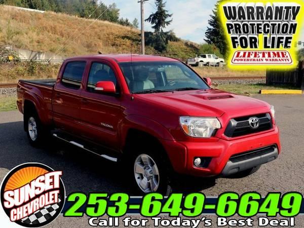2014 *Toyota Tacoma* LB V6 AT 4x4 Truck