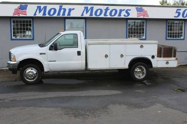 2002 *Ford* *F-450* *EX* Flatbed Truck