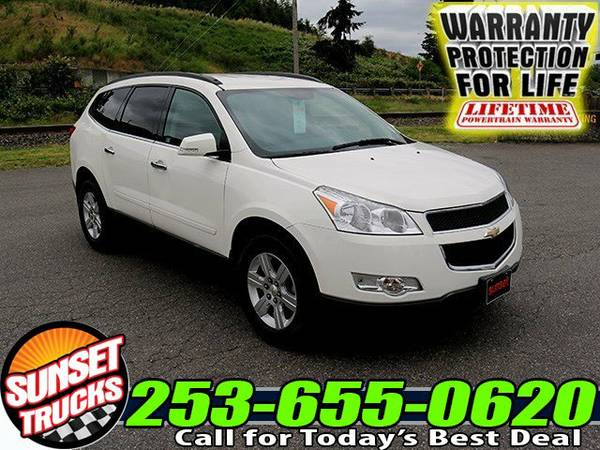 2012 *Chevrolet Traverse* LT AWD SUV Crossover Chevrolet Traverse