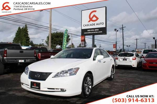 2007 Lexus ES 350 Base 4dr Sedan PARKING SENSORS LEATHER HEATED...