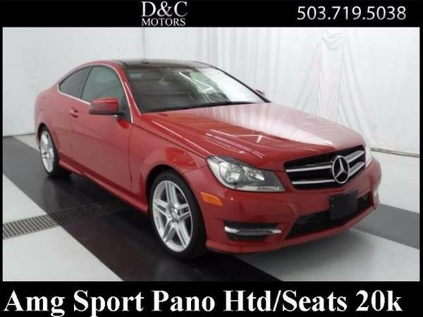 2014 *Mercedes-Benz* *C-Class* *C250 AMG Sport Coupe Pano Htd/Seats...