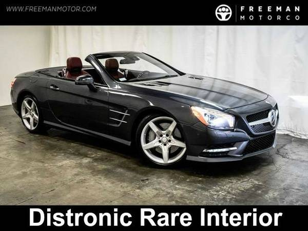 2013 *Mercedes-Benz* *SL550* *AMG Sport Hardtop Convertible Distronic