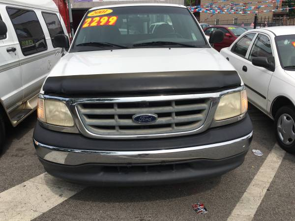 2001 Ford F-150 5-speed