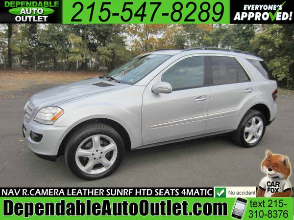 2008 Mercedes-Benz M-Class ML350 4MATIC *NAV R.CAMERA AWD LEATHER SUNR