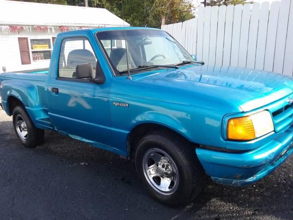 Cheap Truck-1994 Ranger Step Side