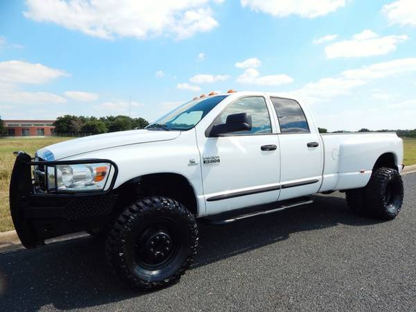 2007 RAM 3500 4X4 6SPEED-5.9L TURBODIESEL-1OWNER-RUST FREE!