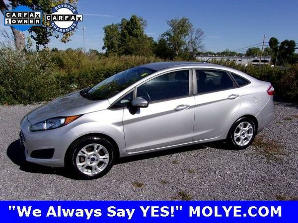 2014 *Ford Fiesta* SE - (Storm Gray Metallic) 4 Cyl.