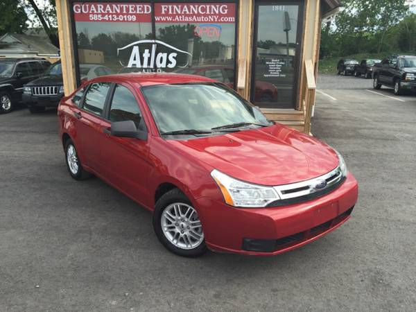 2009 Ford Focus Clean 4 cyl gas saver Guaranteed Financing..!
