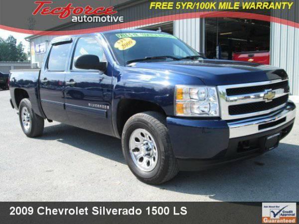 2009 Chevrolet Silverado 1500 Crew Cab LS 4X4 New Tires Add Lift &...