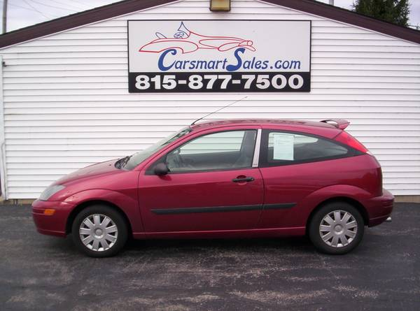 2004 Ford Focus 2DR ZX3 HATCHBACK - sporty LQQKING with MANUAL trans