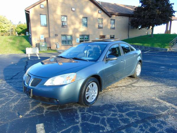 2005 PONTIAC G6 4DR 120K 3.5 V6 LOADED MOONROOF XCLEAN IN/OUT RUNS A1!