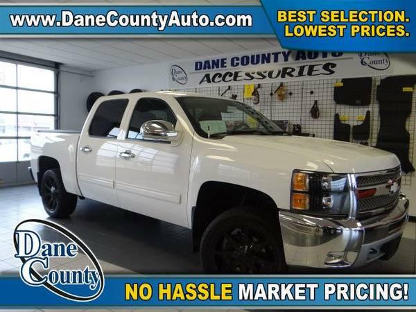 2013 *Chevrolet Silverado 1500* LT - Chevrolet Summit White