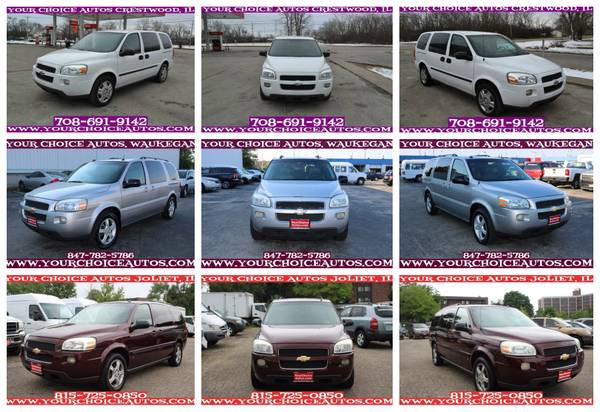 2005-2006-2008 *CHEVROLET**UPLANDER* V6 3ROW MINIVAN DVD GOOD TIRES