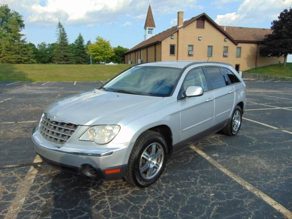 2007 CHRYSLER PACIFICA TOURING LOW MI LOADED 3RD ROW NEW TIRES XCLEAN