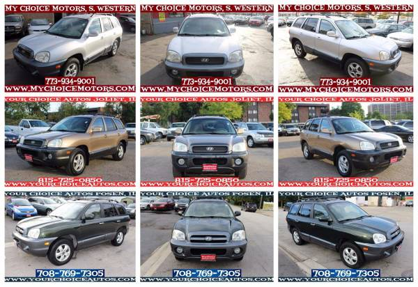 2003-2004-2006 *HYUNDAI**SANTA*FE* GLS SUV AWD TOW LEATHER ALLOY CD