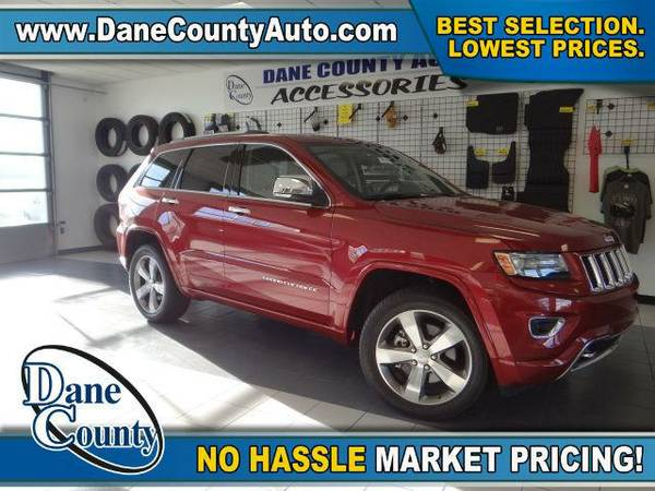 2014 *Jeep Grand Cherokee* Overland - Jeep Cherry Red