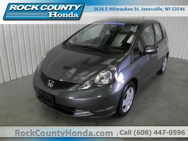 2013 Honda Fit BASE Sedan Fit Honda