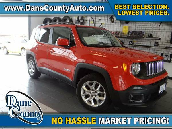 2015 *Jeep Renegade* Latitude - Jeep Omaha Orange