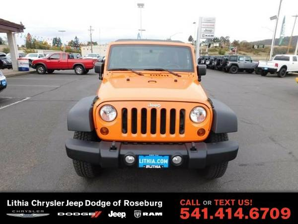 2012 Jeep Wrangler Unlimited SPOR