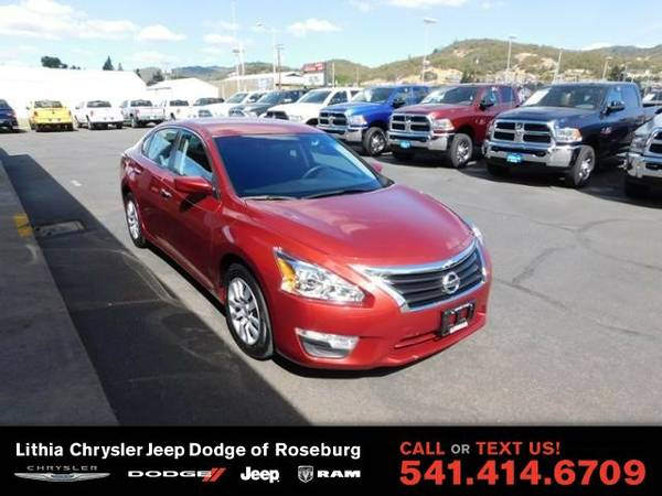 2015 Nissan Altima 2.5 S (You Save $633 Below KBB Retail)