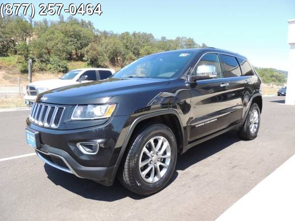 2015 Jeep Grand Cherokee Limited 1C4RJFBG6FC724171 Roseburg