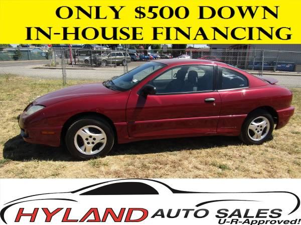 2005 PONTIAC SUNFIRE **U-R APPROVED!!! @ HYLAND AUTO SALES !! **