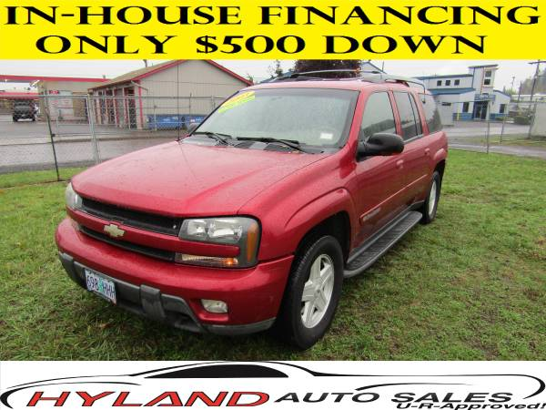 2003 CHEVROLET TRAILBLAZER LT 4X4* 3RD ROW SEATING *97,862 MILES *
