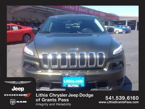 2014 Jeep Cherokee SPORT (You Save $451 Below KBB Retail)