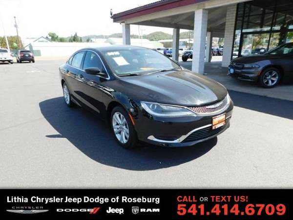 2015 Chrysler 200 LIMITED (You Save $1,561 Below KBB Retail)