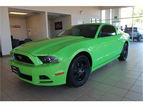 2013 *Ford* *Mustang* ; Your job is your credit! No hassle!!!