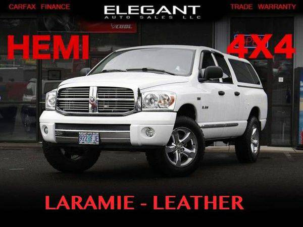 2008 *Dodge* *Ram* *1500* Laramie 4X4 HEMI 5.7 LEATHER LOADED