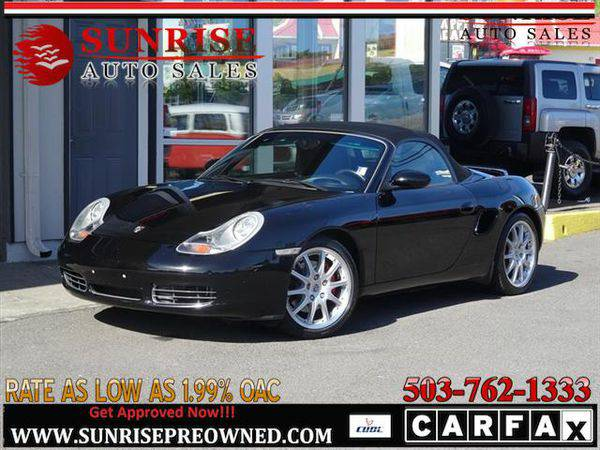 2002 *Porsche* *Boxster* BOXTER S, LOW LOW MILES, RUNS GREAT!! COME SE