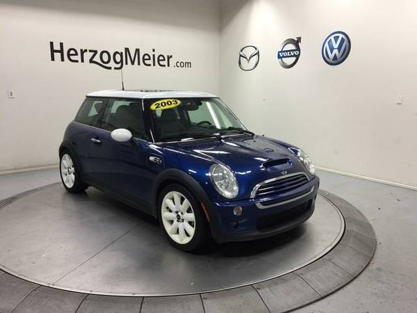 2003 *Mini Cooper S* Base (Indi Blue Metallic)